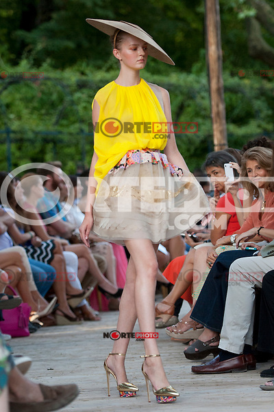 opening Cibeles catwalk with fashion show of Delpozo on Agost 30th 2012...Photo:  (ALTERPHOTOS/Ricky) /NortePhoto.com<br />