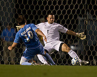 Number one seed University of North Carolina Tarheels against Coastal Carolina Chanticleers at UNC's Fetzer Field  UNC won 3-2.