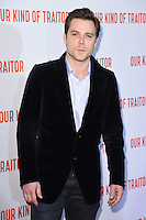 "Marek Oravec<br /> poses at the Washington Hotel before the premiere of ""Our Kind of Traitor"" held at the Curzon Mayfair, London<br /> <br /> <br /> ©Ash Knotek  D3113 05/05/2016"