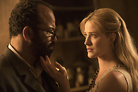 WESTWORLD (season 2)<br /> JEFFREY WRIGHT, EVAN RACHEL WOOD<br /> *Filmstill - Editorial Use Only*<br /> CAP/FB<br /> Image supplied by Capital Pictures