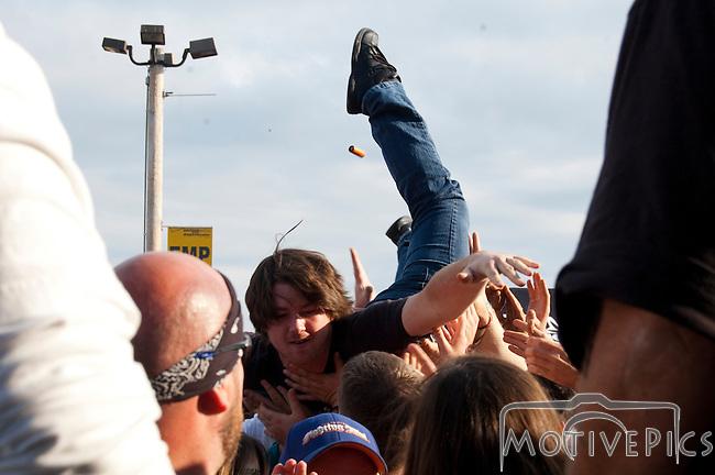 Sevendust at Uproar Festival Verizon Wireless Amphitheater St. Louis, MO September 25th, 2011.