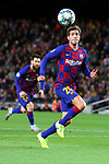 UEFA Champions League 2019/2020.<br /> Matchday 4.<br /> FC Barcelona vs SK Slavia Praha: 0-0.<br /> Sergi Roberto.