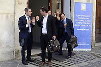 Roma, 3 Luglio 2014<br /> Convegno e assemblea dell'Anci<br /> L'associazione dei Comuni italiani per l'innovazione.<br /> Nella foto Federico Pizzarotti sindaco di Parma con alessandro Cattaneo ex sindaco di Pavia Forza Italia