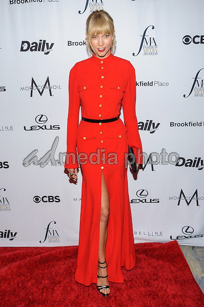 08 September 2016 - New York, New York- Karlie Kloss. Daily Front Row's Fourth Annual Fashion Media Awards. Photo Credit: Mario Santoro/AdMedia