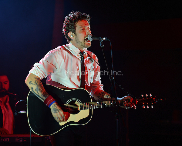 FORT LAUDERDALE FL - JUNE 10: Frank Turner performs at Revolution on June 10, 2016 in Fort Lauderdale, Florida. Credit: mpi04/MediaPunch