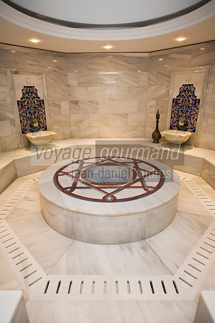 Europe/Turquie/Istanbul :  Hammam de l'Hôtel Ritz Carlton