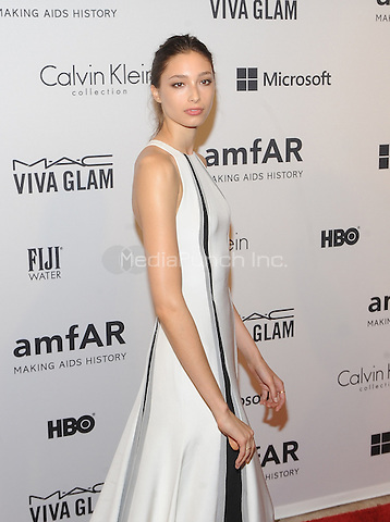 New York,NY- June 10: Alexandra Agoston attends the amfAR Inspiration Gala at The Plaza Hotel In New York City on June 10, 2014 . Credit: John Palmer/MediaPunch