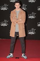 Petit Biscuit sur le Tapis Rouge / Red Carpet avant la Ceremonie des 19 EME NRJ MUSIC AWARDS 2017, Palais des Festivals et des Congres, Cannes Sud de la France, samedi 4 novembre 2017.
