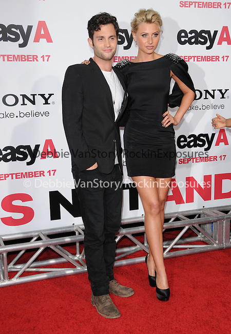 "Penn Badgley and Aly Michalka at the Screen Gems' L.A. Premiere of ""Easy A"" held at The Grauman's Chinese Theatre in Hollywood, California on September 13,2010                                                                               © 2010 Hollywood Press Agency"