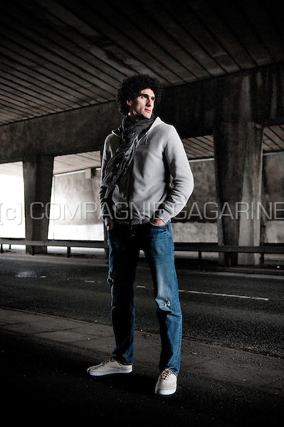 Belgian Moroccon football player Marouane Fellaini (England, 31/01/2013)