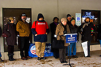 Organizing for America Press Conference/Rally Schaumburg, Illinois 1-19-11