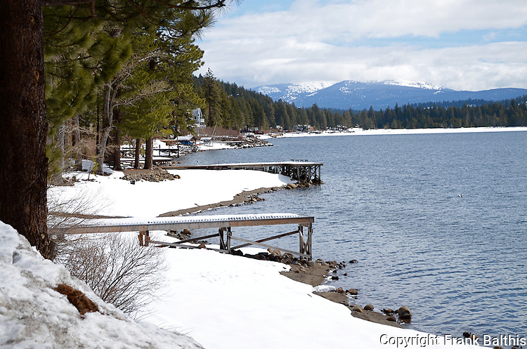 Donner Lake in March
