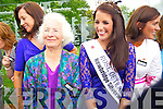 Former Roses at the unveiling of the Rose monument in Tralee Town Park on Thursday were l-: Alice O'Sullivan (1959) Nicola McEvoy (2012 Rose of Tralee)