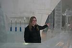 Reception at Ice Hotel near Duchesnay