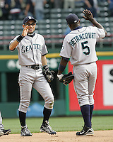Seattle Mariners xxx against the Texas Rangers on May 14th, 2008 at Texas Rangers Ball Park. Photo by Andrew Woolley / Four Seam Images.