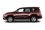 Car Driver side profile view of a 2018 Lexus GX 460 5 Door SUV Side View