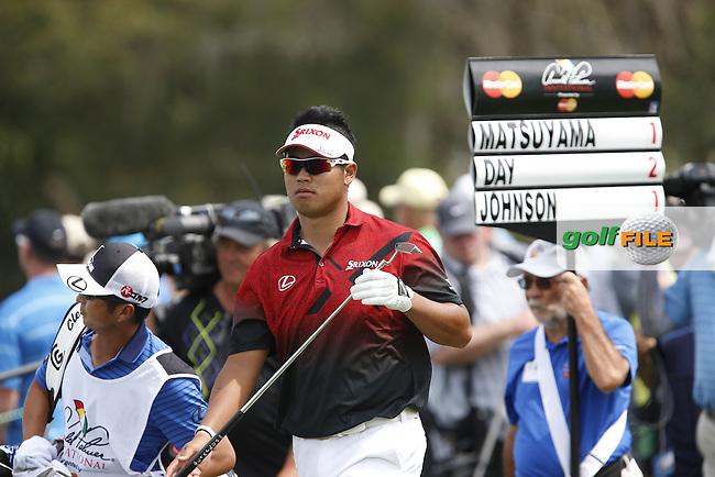 Hideki Matsuyama (JPN) during the First Round of the Arnold Palmer Invitational Championship,