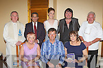 Country singing super star Daniel O'Donnell who officially opened Our Lady of Lourdes in Kilcummin on Sunday afternoon front row l-r: Eileen Conlon, Daniel O'Donnell and Maggie Murray. Back row: Fr Joe Begley, Rod Murray, Donna Doonan, Mark Leen and Ned Conlon..