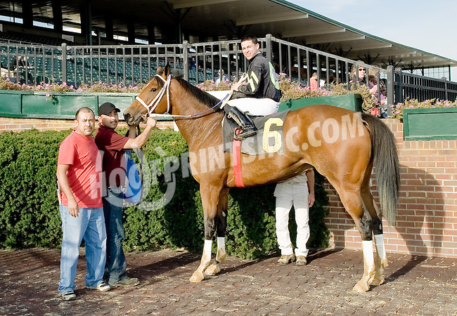 English Girl winning at Delaware Park on 10/17/12