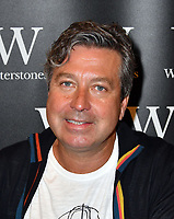 John Torode, Australian-born British TV chef signs copies of his new cookbook John Torode's Sydney to Seoul, a gastronomic tour of Australasia, at Waterstones Leadenhall Market, London, UK on May 31, 2018.<br /> CAP/JOR<br /> &copy;Nils Jorgensen/Capital Pictures