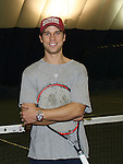 Ryan Brown (ex GL & YR participated at the Rock N'Pink Tennis Challenge on Nov 23, 2008 to BENEFIT Tennis Against Breast Cancer (TABC) at the Roosevelt Island Racquet Club, Roosevelt Island, New York. (Photo by Sue Coflin/Max Photos)