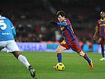 partido de ida de la copa del rey barcelona 5 - almeria 0