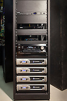 Custom Home Theater Equipment Rack