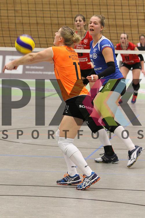 Stuttgarts Tamari Miyashiro  beim Spiel in der Volleyball Frauen 1. Bundesliga Koepenicker SC Berlin  - Allianz MTV Stuttgart .<br /> <br /> Foto © PIX-Sportfotos *** Foto ist honorarpflichtig! *** Auf Anfrage in hoeherer Qualitaet/Aufloesung. Belegexemplar erbeten. Veroeffentlichung ausschliesslich fuer journalistisch-publizistische Zwecke. For editorial use only.