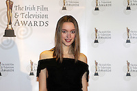12/2/11 Tabea Weyrauch on the red carpet at the 8th Irish Film and Television Awards at the Convention centre in Dublin. Picture:Arthur Carron/Collins