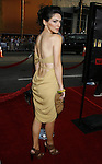 """Actress Nazanin Boniadi arrives to the """"Iron Man"""" premiere at Grauman's Chinese Theatre on April 30, 2008 in Hollywood, California."""