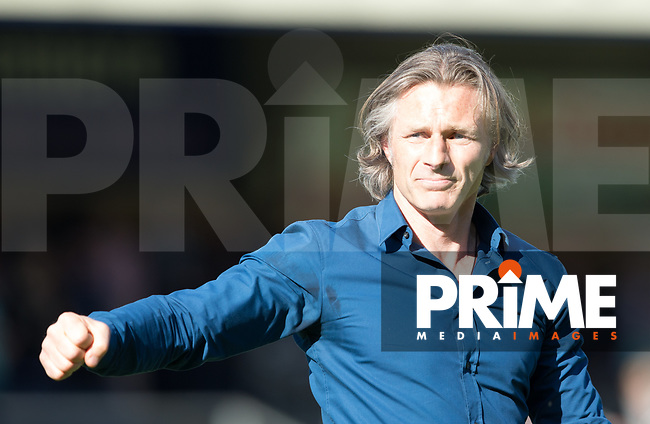 Gareth Ainsworth Manager of Wycombe Wanderers during the Sky Bet League 2 match between Wycombe Wanderers and Doncaster Rovers at Adams Park, High Wycombe, England on 22 April 2017. Photo by James Williamson / PRiME Media Images.