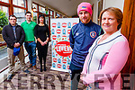 Pictured at the launch of the Donal Walsh Live Life Take 3 Film Festival, which starts now, where people can submit films until January 31st  and also a ceremony and awards event will take place at the Brandon Hotel, Tralee on February 10th 2016, l-r: Martin Houlihan, Ciarán O'Regan, Mary Lucey, Barry John Keane and Elma Walsh.