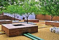 Nancy Dickensen garden Santa Fe
