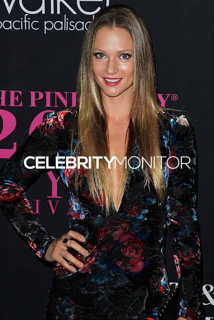 SANTA MONICA, CA, USA - OCTOBER 18: A.J. Cook arrives at Elyse Walker's 10th Annual Pink Party held at Santa Monica Airport HANGAR:8 on October 18, 2014 in Santa Monica, California, United States. (Photo by Celebrity Monitor)