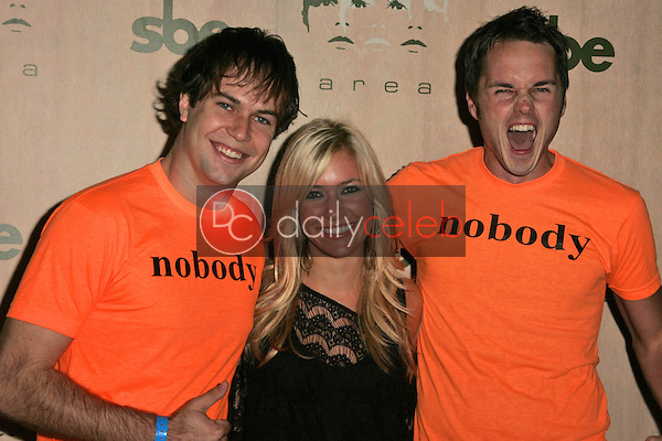 Paul Campbell with Kristin Cavallari and Taran Killam<br />