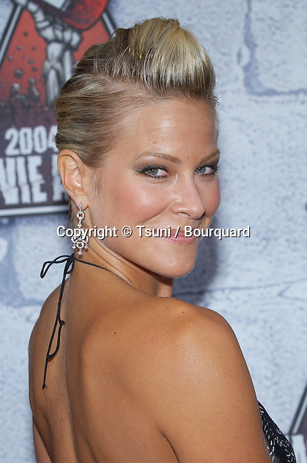 Brittany Daniel  arriving at the 2004 MTV Movie Awards on the Sony Studio Lot in Los Angeles. June 5, 2004.