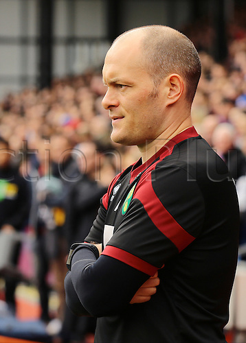 09.04.2016. Selhurst Park, London, England. Barclays Premier League. Crystal Palace versus Norwich. Norwich City Manager Alex Neil