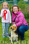 At the Dog Show in aid of the  Irish Guide Dogs at  John Mitchels sports Complex on Monday were Emma Slattery Helen Slattery with 1st prize winner Jessie from Kilflynn
