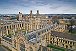 Oxford 2009-03-07. Miasto w południowej Anglli głównie znane jako siedziba Uniwersytetu Oxfordzkiego. All Souls College.