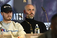Adam Booth during a Press Conference at Glaziers Hall on 14th February 2020