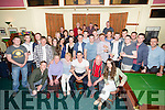 David Culloty, Tralee, celebrating his 30th Birthday with family and friends at Na Gaeil Club House on Saturday