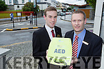 Anthony Good right and Aaron Daly from the Plaza Hotel Killarney who saved a man with a difibilator after the man had a cardiac arrest in his room