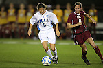 07 December 2007: UCLA's Christina DiMartino (5) and USC's Ashli Sandoval (8). The University of Southern California Trojans defeated the University of California Los Angeles Bruins 2-1 at the Aggie Soccer Stadium in College Station, Texas in a NCAA Division I Womens College Cup semifinal game.