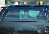 United States President Barack Obama rides back to his Kailua residence from the Marine Corps Base Hawaii after a morning workout in Kaneohe, Hawaii, December 30, 2010. .Credit: Cory Lum / Pool via CNP