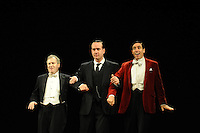 LONDON, ENGLAND - NOVEMBER 05: Mark Hadfield, Matthew Macfadyen &amp; Stephen Mangan attend a photocall as Jeeves and Wooster in 'Perfect Nonsense' at the Duke Of York's Theatre on November 5th, 2013 in London, England. <br /> CAP/CJ<br /> &copy;Chris Joseph/Capital Pictures