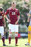 31 August 2014: Elon's Jason Waterman. The Elon University Phoenix played the Loyola Marymount University Lions at Koskinen Stadium in Durham, North Carolina in a 2014 NCAA Division I Men's Soccer match. Elon won the game 1-0.