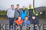 Taking part in the men's Senior 10,000m County Cross Country Championships in Cahersiveen on Sunday were front l-r; Simon Mangan(Killarney), Martin Dineen(Tralee), Andrew Purcell(Listowel), back l-r; John Barrett(Gneeveguilla), Cian Murphy(Iveragh AC), Seamus Murphy(Milltown) and Robert Purcell(Gneeveguilla).