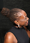 Chirlane McCray, hair detail, attends the SDC Foundation presents The Mr. Abbott Award honoring Kenny Leon at ESPACE on March 27, 2017 in New York City.