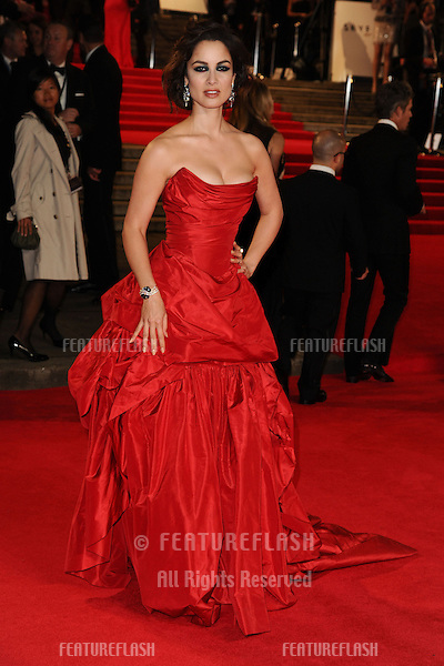 Berenice Marlohe arriving for the Royal World Premiere of 'Skyfall' at Royal Albert Hall, London. 23/10/2012 Picture by: Steve Vas / Featureflash