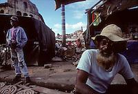 At the Zoma or Friday Market in Antananarivo, Madacascar in 1996
